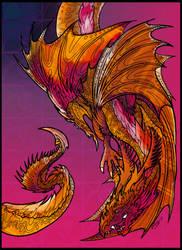 Draconigena Noctilucae Lineart By Rachaelm5-d7 by triumf500