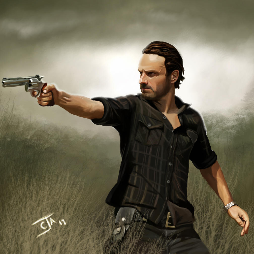 Rick Grimes - The Walking Dead by Ignis-vitae