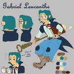 Gabriel Ref Sheet by Shelter-Cat