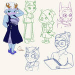 Doodle week 02 by Shelter-Cat