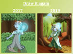 Draw It Again 2019 by Shelter-Cat