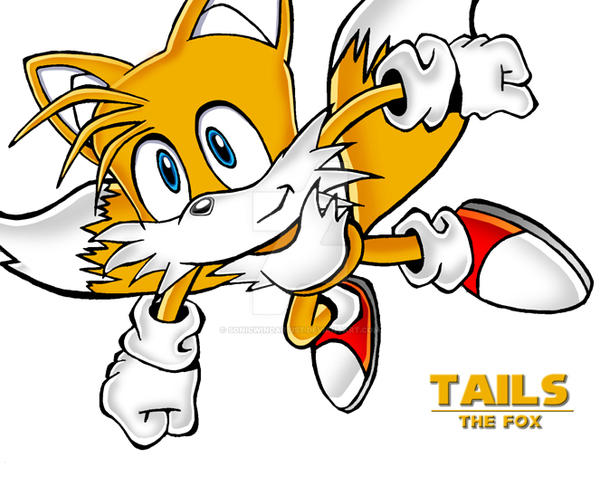 Tails - Coloured by sonicwindartist