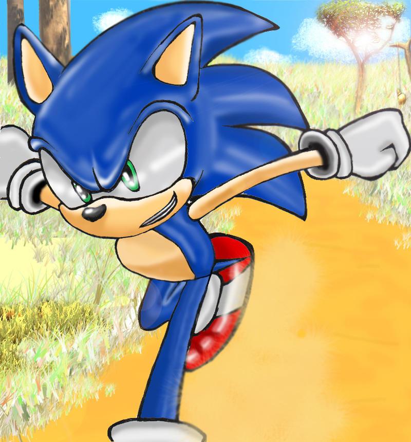 Sonic - Mazuri by sonicwindartist