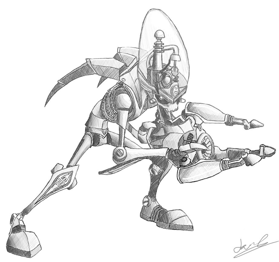 - Nefarious Sketch Practice - by sonicwindartist