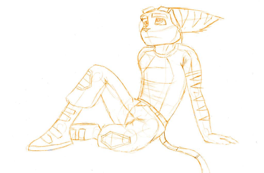 - Ratchet Sketch - by sonicwindartist