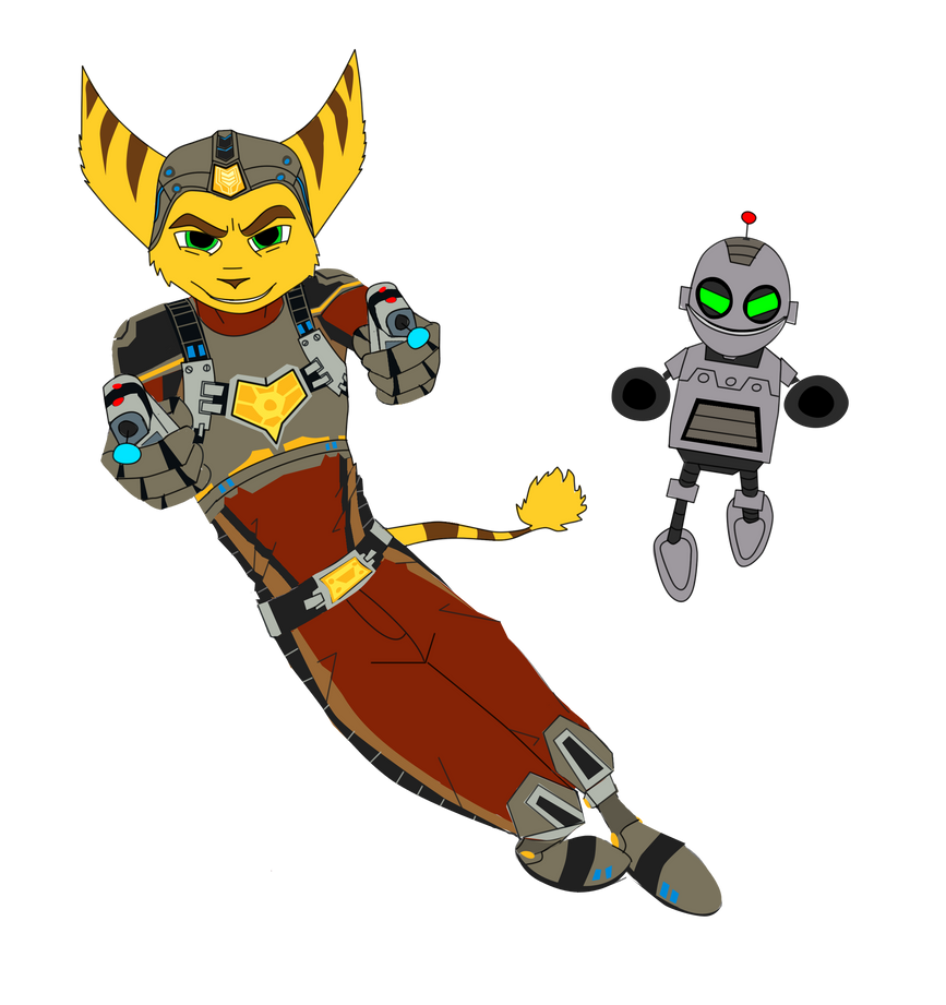 - Ratchet and Clank: Into the Nexus Base colours - by sonicwindartist