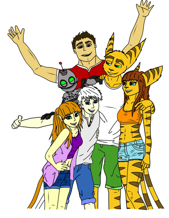 Beach Party Group Lineart Base Colours   By Soni by sonicwindartist