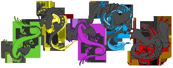 Ancient Lum's Flatcolors by AshaGirl4Life