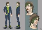 Kei Gross character design