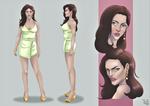 Kamilia Yumi character design