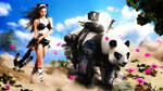 shapeShifters-panda1 by JeromeBrack
