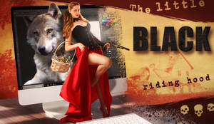 Little Black Riding Hood by JeromeBrack