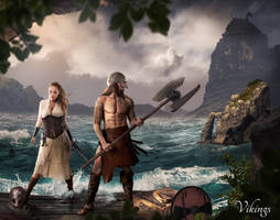 Vikings by JeromeBrack