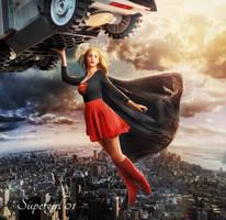 Supergirl 1 by JeromeBrack