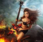 Metal Godess by JeromeBrack