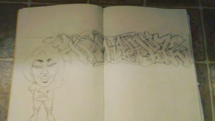 piece in progress