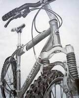 RISD Bike Drawing by Feildc