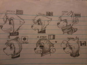 +Hetalia Dogs+