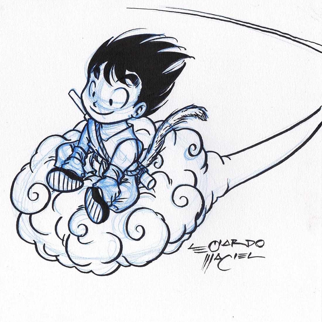 dragon ball, son goku, leonardo maciel