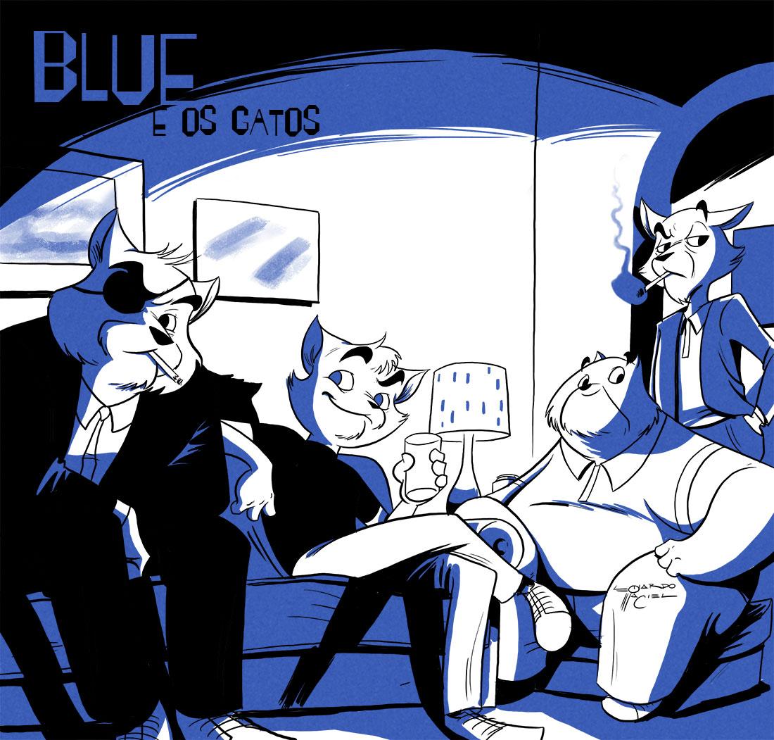 blue e os gatos, Leonardo Maciel