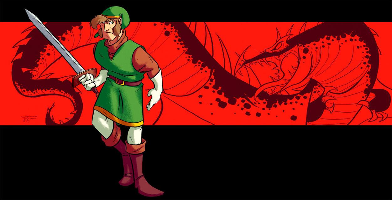 Link - Legend of Zelda by NabundaNada