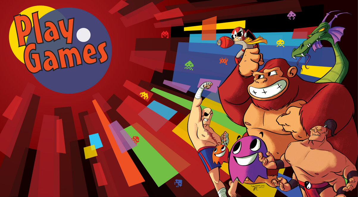 Play Games - Villains by NabundaNada