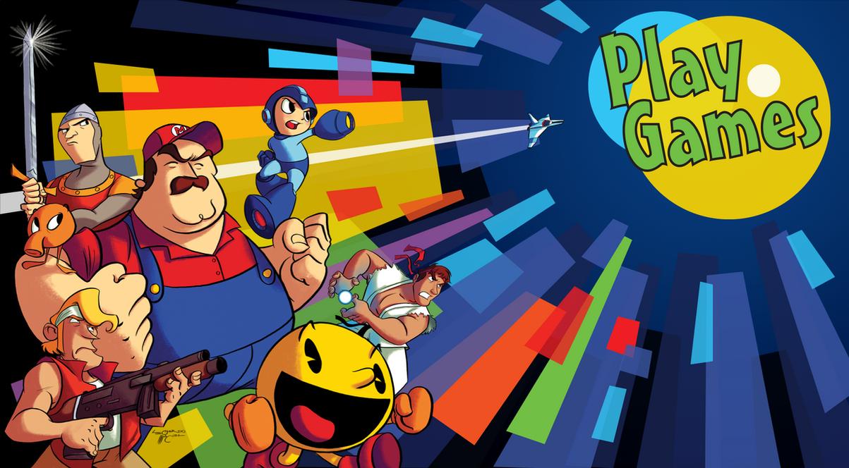 Play Games - Heroes by NabundaNada