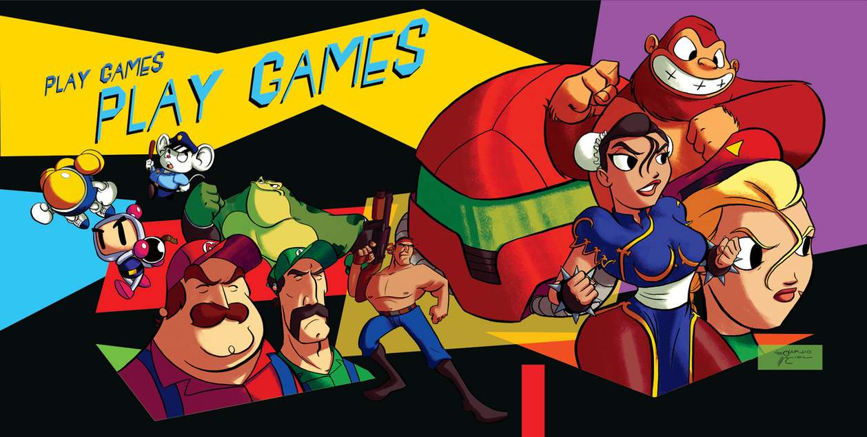 Play Games by NabundaNada