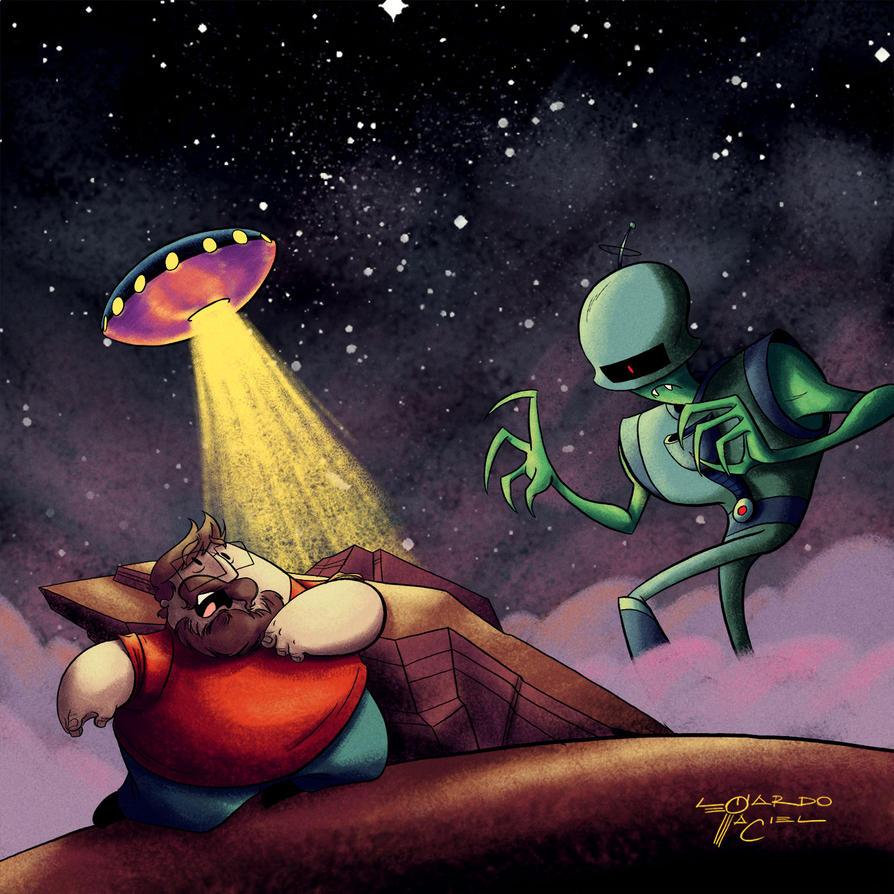 Jurassicast - Elo Perdido 42 UFOs by NabundaNada