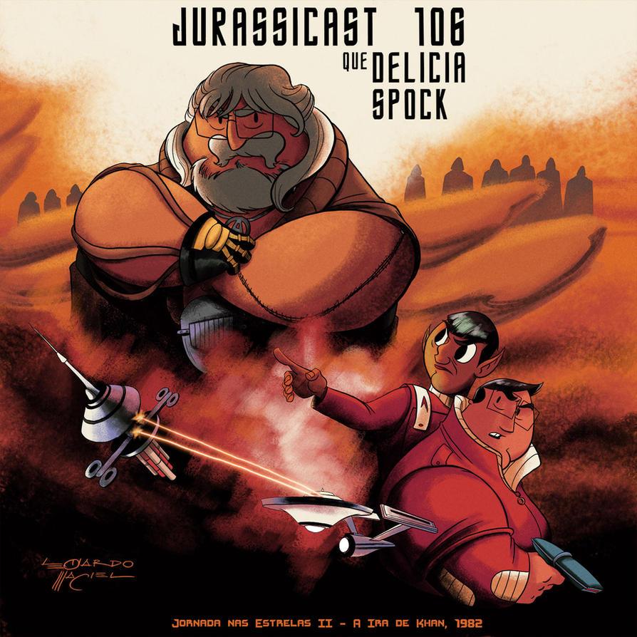 Star Trek II: Wrath of Khan - Jurassicast by NabundaNada