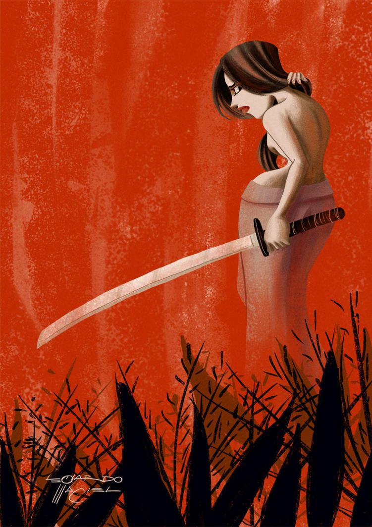 A Samurai by NabundaNada