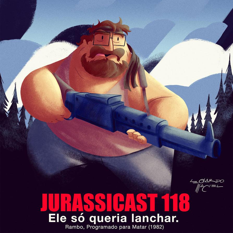 Rambo - First Blood (Jurassicast) by NabundaNada