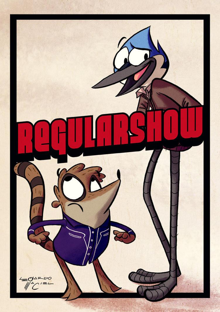 Regular Show by NabundaNada