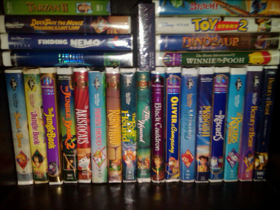 Pin My Disney Vhs Collection 2011 Edition Part 1 On Pinterest