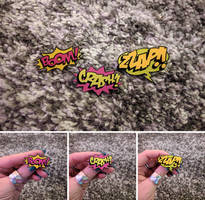 Comic Book Pins