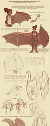 Bat Wing Tutorial by harrie5