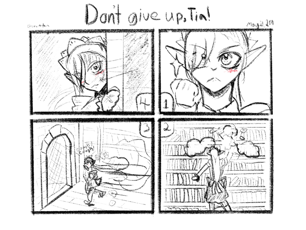 Dont give up, Tia! by azuretan