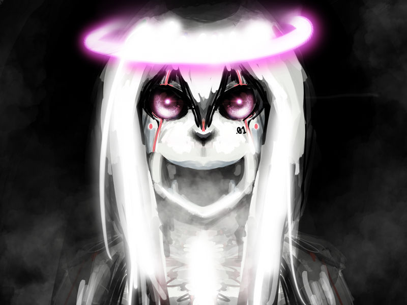 Spooky Mode by azuretan
