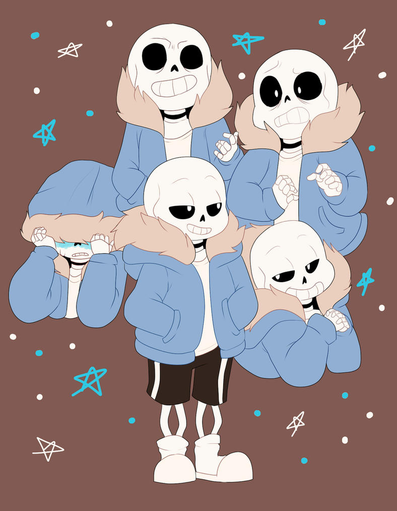 So much Sans by Muffin-Draw