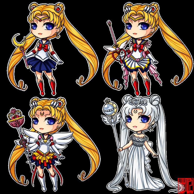 Sailor Moon by LostAdopt