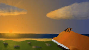 Sleepy Sunset by CreeperMan0508