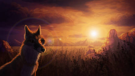 Prairie Fox by CreeperMan0508
