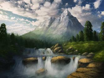 Rushing Water by CreeperMan0508
