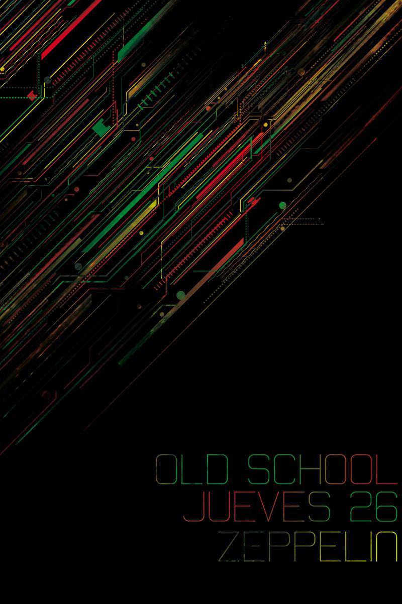 Old School Party - Flyer by cabezadecondor