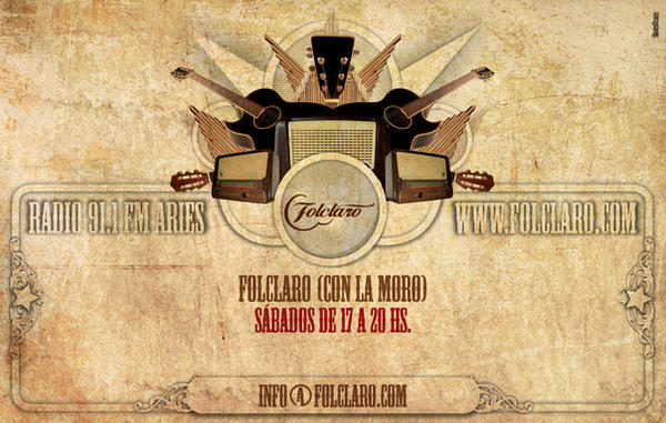 Flyer Folclaro by cabezadecondor