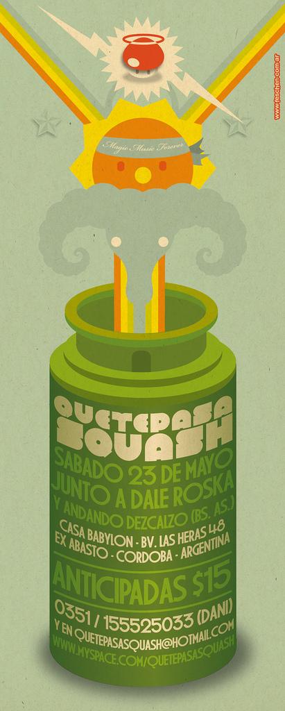 Que Te Pasa Squash? by cabezadecondor