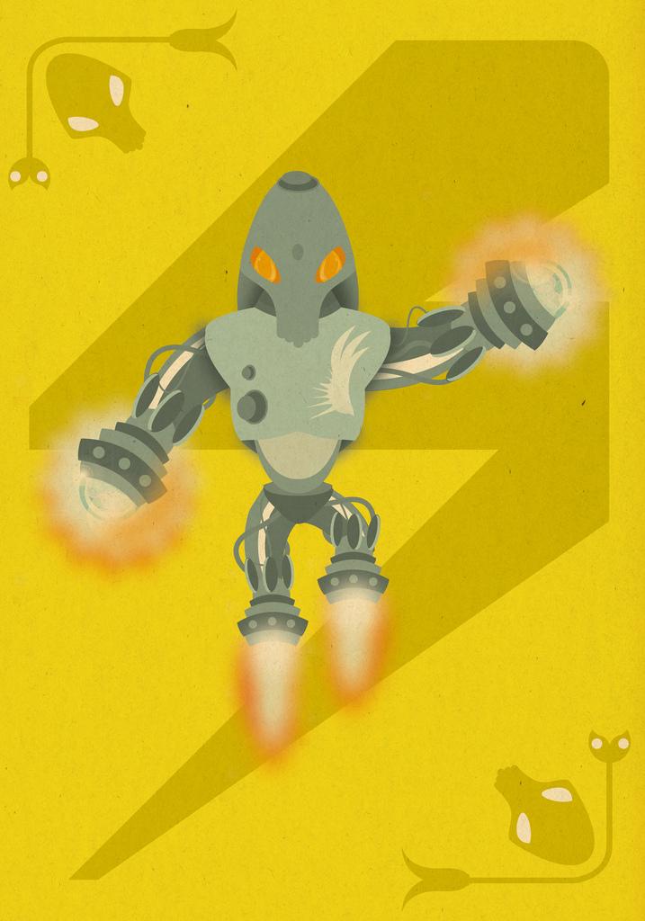 M. Monstruosa - Spacerobot by cabezadecondor