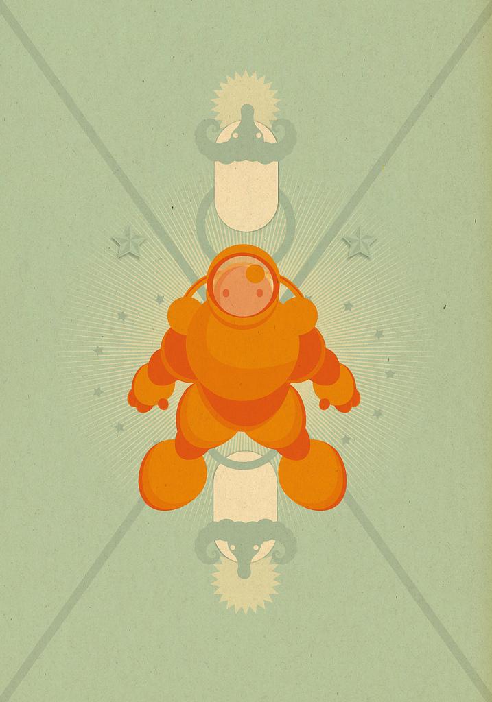 Muestra Monstruosa - Astronaut by cabezadecondor
