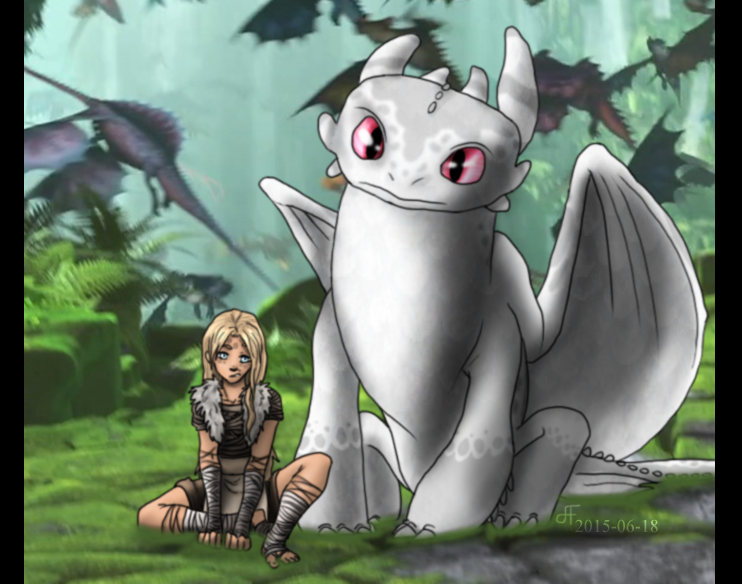 Snowdrop and runa httyd2 oc by ally the fox 20 on deviantart snowdrop and runa httyd2 oc by ally the fox 20 ccuart Images