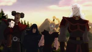 Lotor and his generals (Bending Arts)
